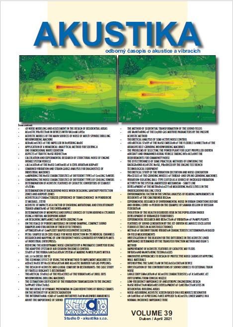 View Vol. 39 No. 39 (2021): Akustika